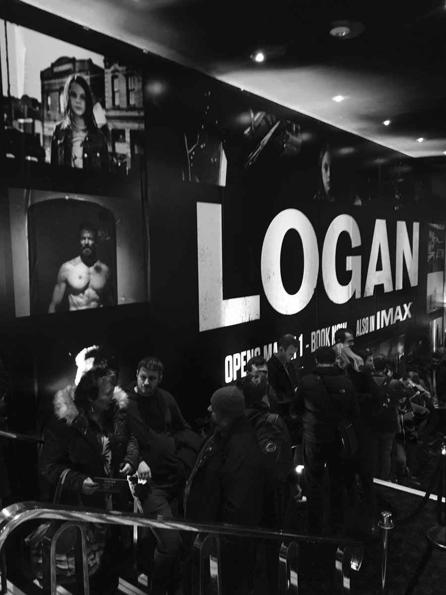 Get ready. We&#39;re at @Cineworld Leicester Square for an exclusive screening of #Logan. #HisTimeHasCome<br>http://pic.twitter.com/Qhdt7YTAWL