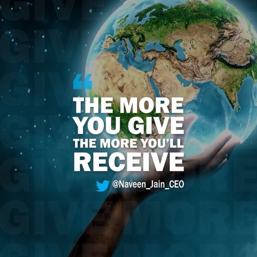 Your greatness is not what you have... it's what you give.  #fridayfee...
