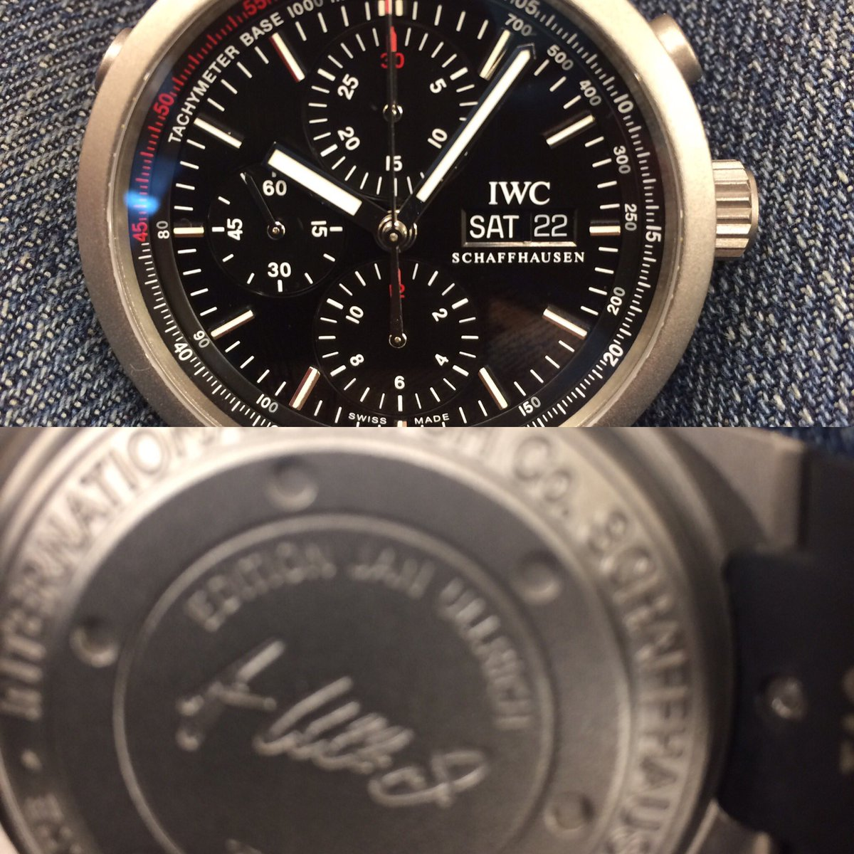 anyone want to buy my #janullrich #IWC ?<br>http://pic.twitter.com/Ha598z2hXd