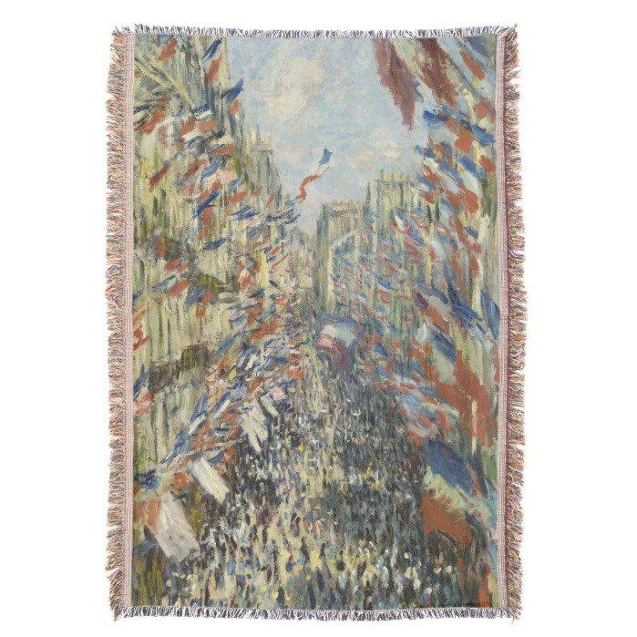 Rue Montorgueil Paris #Monet Throw #Blanket   http://www. zazzle.com/rue_montorguei l_in_paris_by_claude_monet_throw_blanket-256861795695025298?rf=238581041916875857 &nbsp; … <br>http://pic.twitter.com/znoqf5iBMb
