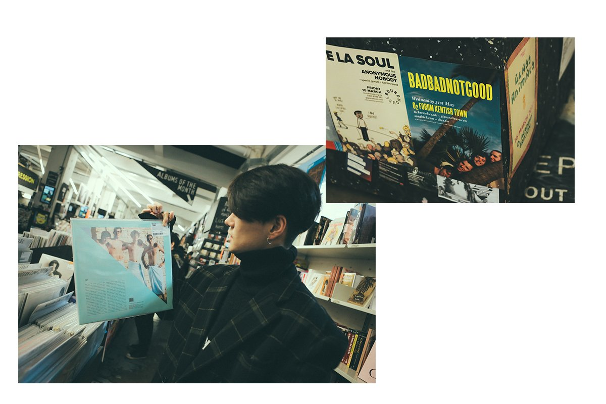 South Korean R&B star Dean shows us his favourite record picks in London: https://t.co/ewZByEw0OA https://t.co/8RbHLsRhHI