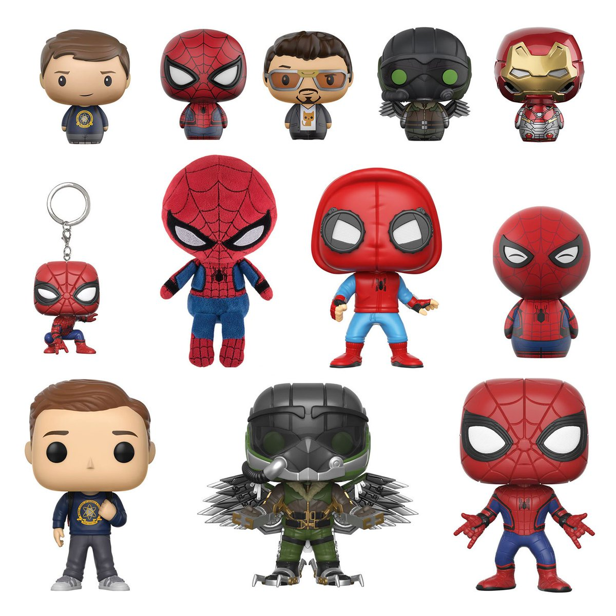 #Spiderman #Homecoming #Tony Stark #Peter Parker #spiderman #funko #pop #toy fair 2017, #Vulture