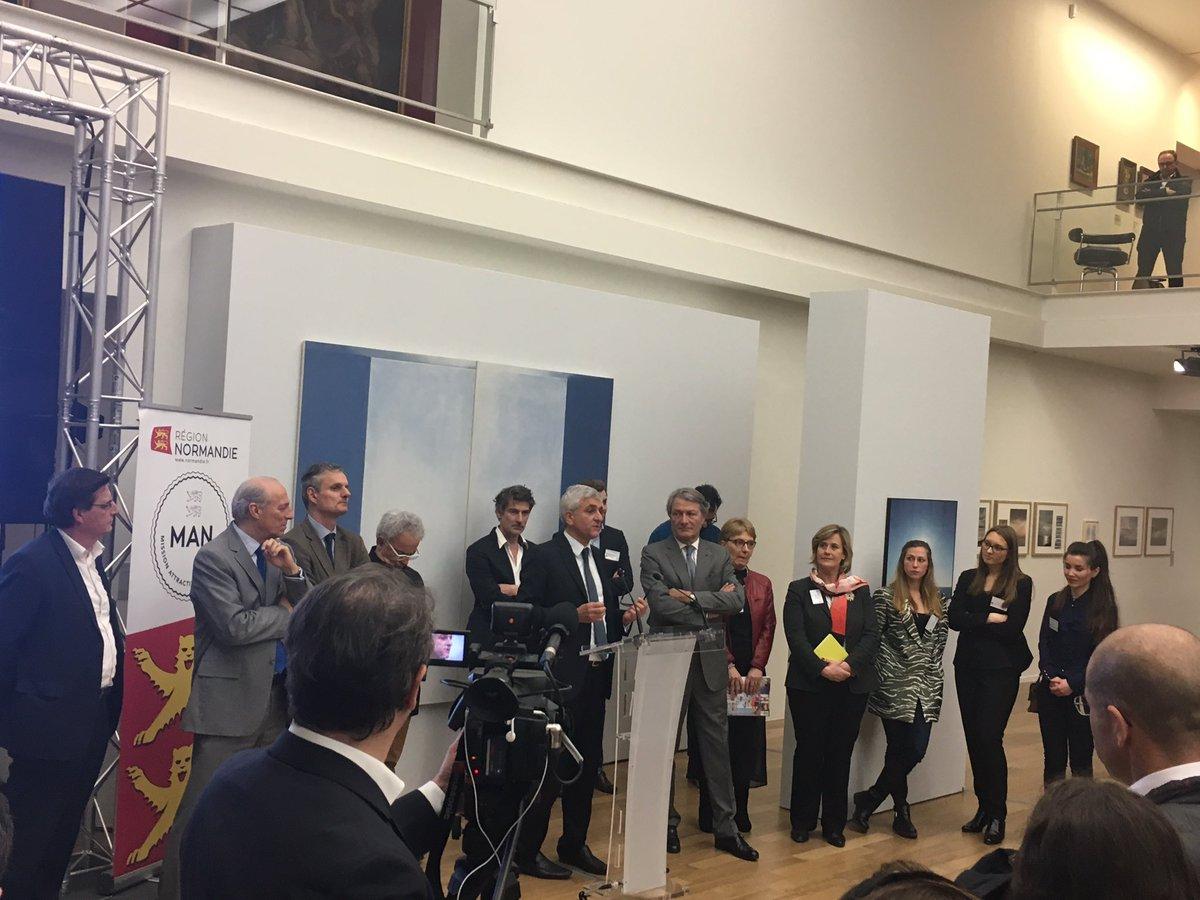 Il faut porter la #Normandie dans le monde : les #Ambassadeurs réunis à @LH_LeHavre #attractivité #développement #économie @AttractiviteNdy<br>http://pic.twitter.com/bB26rhEqFs