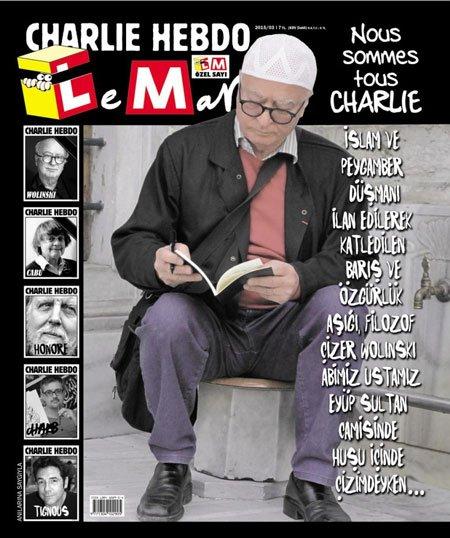#Turquie.Solidarité avec la #presse satirique turque une fois de + ciblée Elle avait aussi soutenu #Charlie #Penguen #Leman #Uykusuz #Gırgır<br>http://pic.twitter.com/laoVfMbZrE