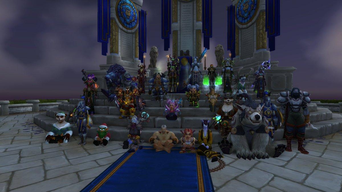 Ouverture de la guilde #PixelFamily sur #Warcraft ! Après-midi conviviale et festive avec les premiers membres de la communauté  <br>http://pic.twitter.com/L40sRfgesH
