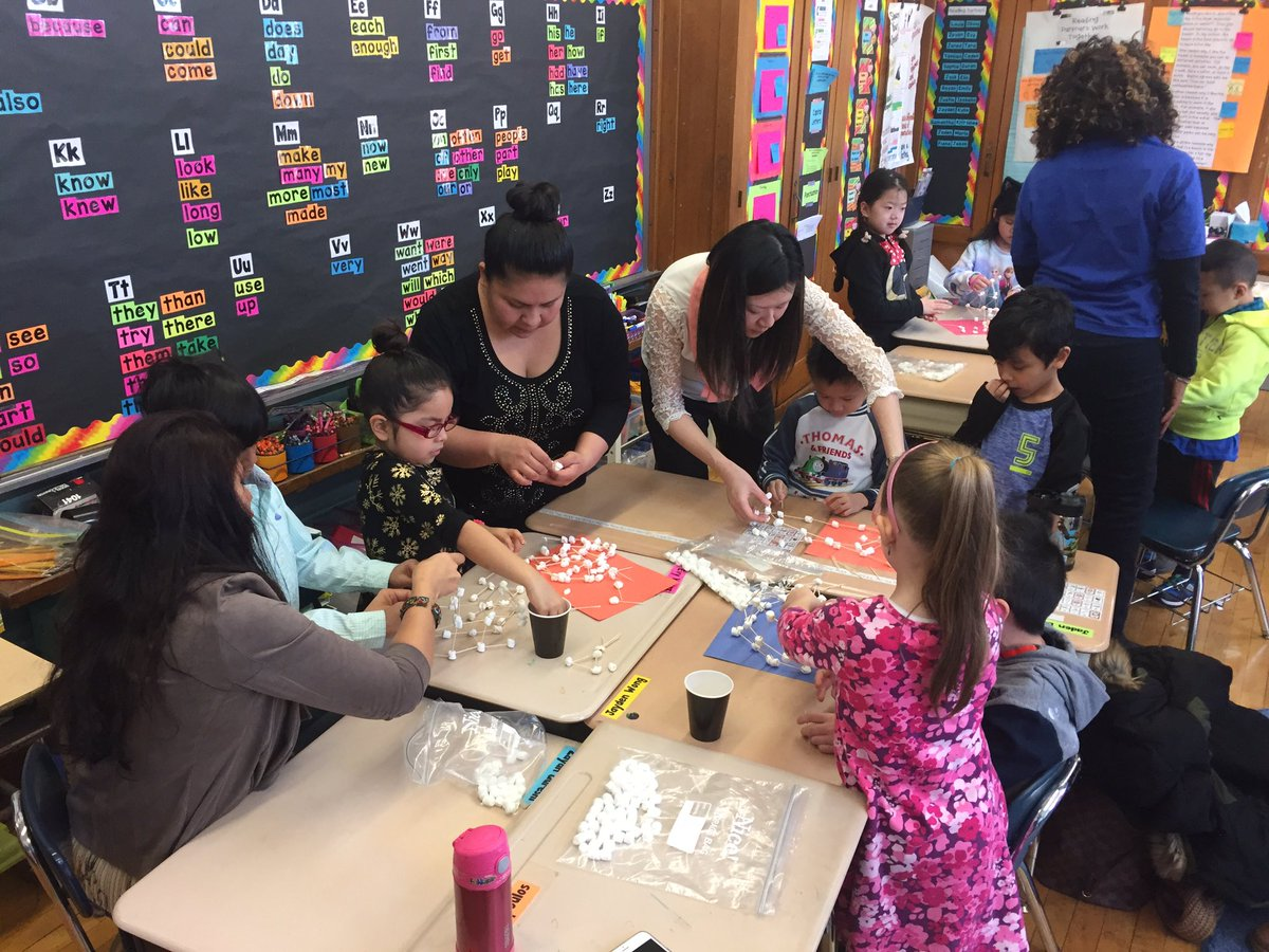 Ps159q On Twitter Family Friday Stem Activity1st Grade Build A