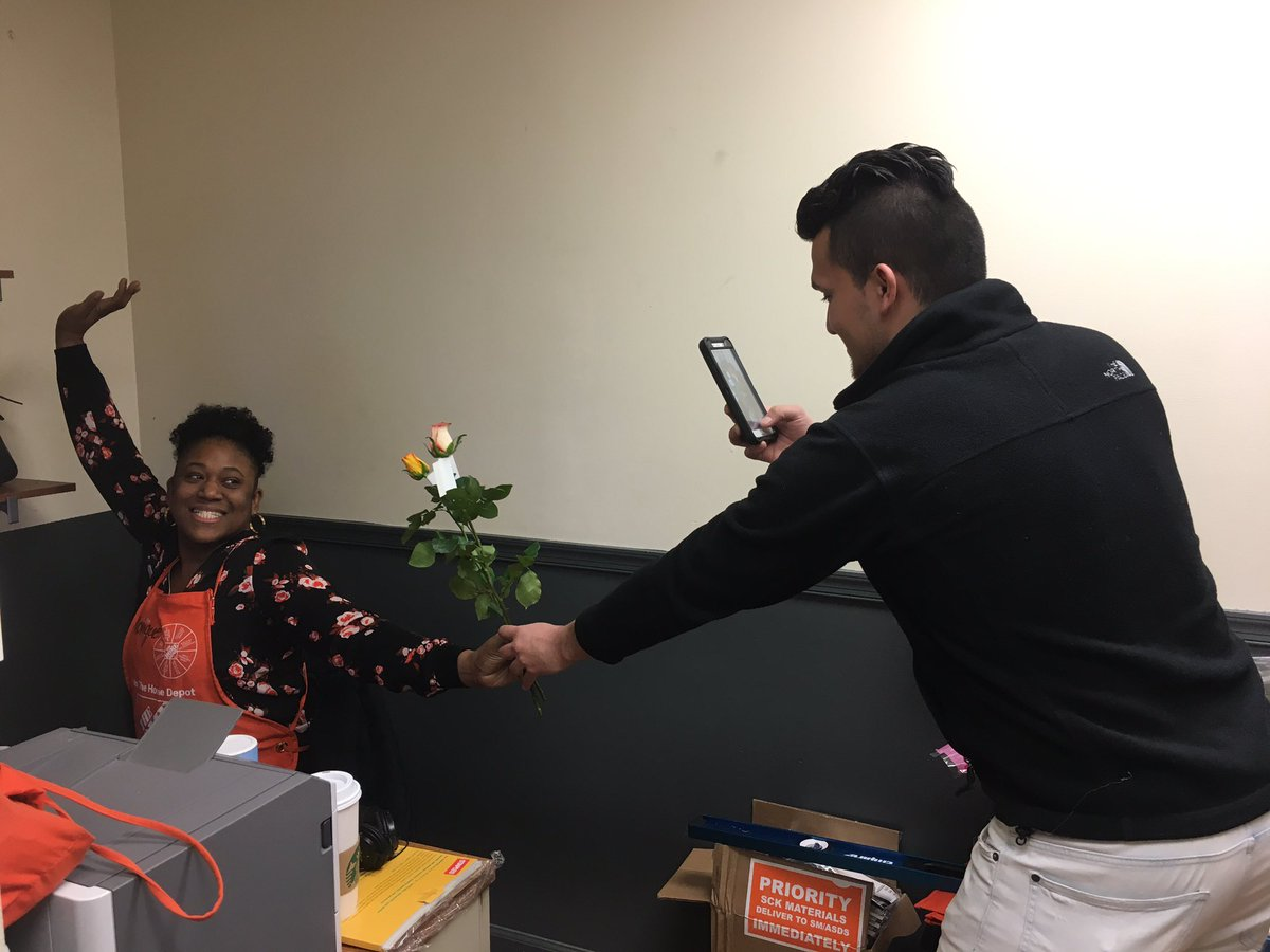 Home Depot 2558 On Twitter Late Post From 2558 Valentinesday