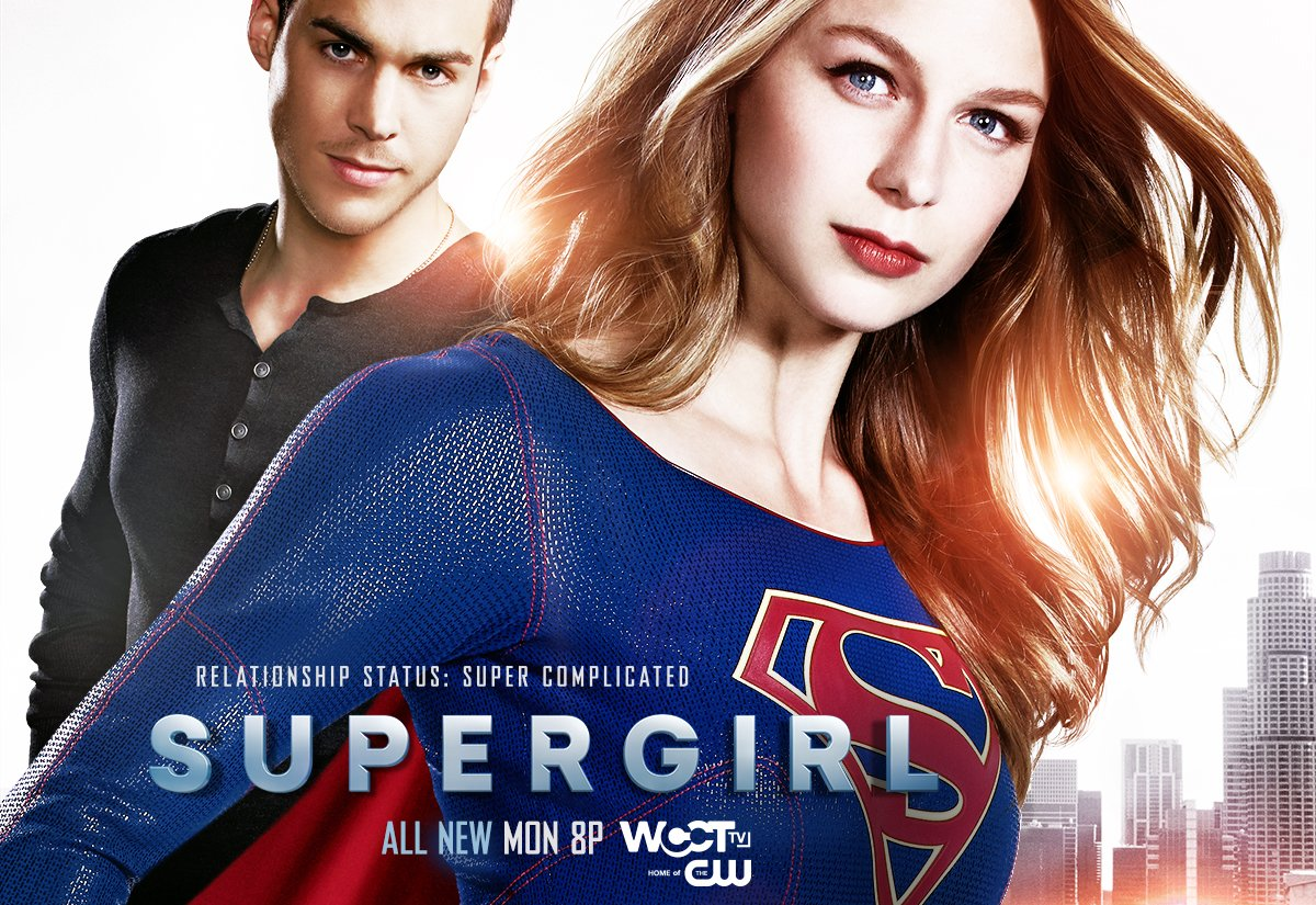 Have a SUPER weekend! Don't forget to tune in this Monday night on @WCCTtv at 8pm for an all NEW @TheCWSupergirl https://t.co/KaSc6SWqS9
