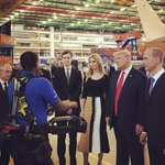 Visiting @boeing in South Carolina with @realdonaldtrump today