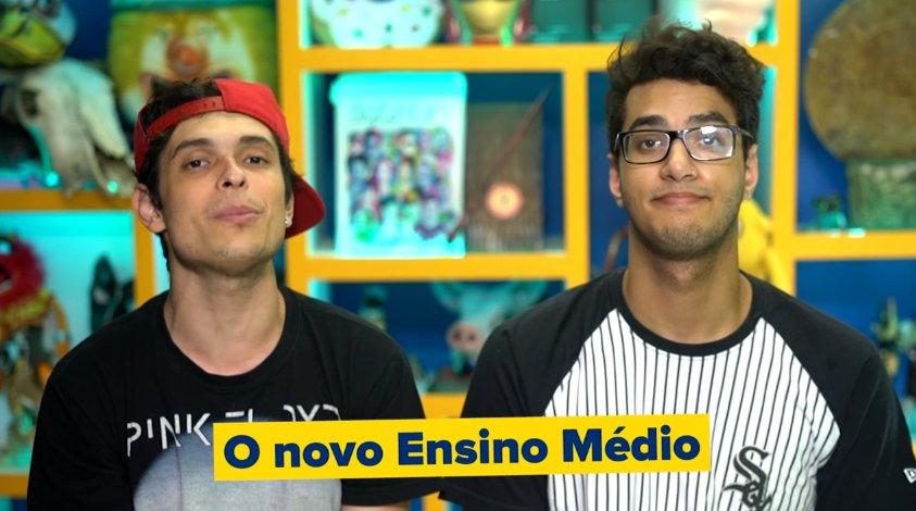 MEC pagou quase R$ 300 mil para youtubers defenderem reforma do ensino médio https://t.co/9kmSvY1WFL