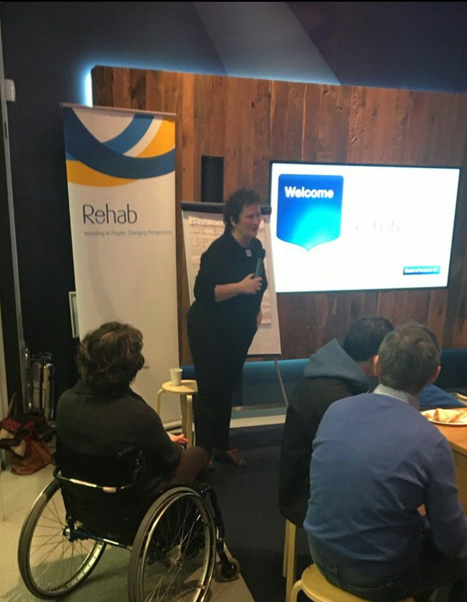 Fantastic to hear from our @RehabGroup CEO @moglow &amp; Director of IT/PMO @Neasao! They are driving #RehabInnovation! #tech #ehealth #access <br>http://pic.twitter.com/zll4n6lfEU