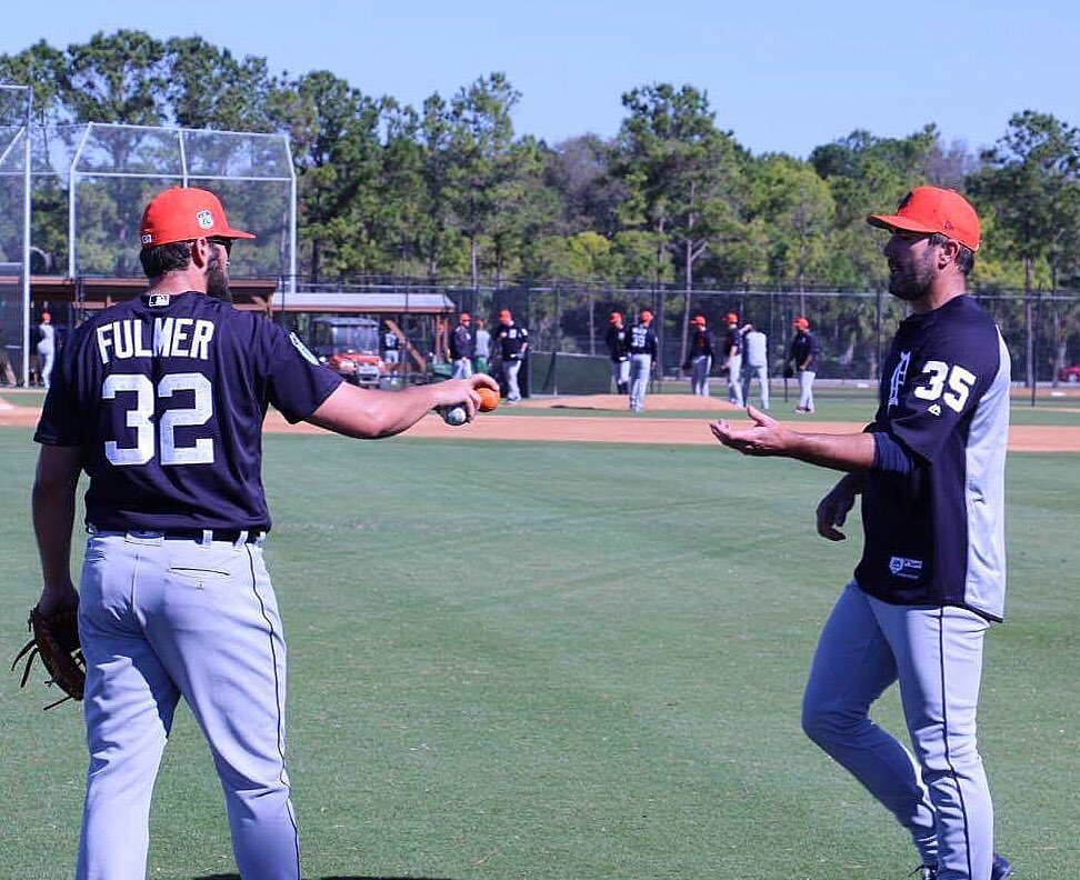 'Here, JV, you get the orange ball because you throw 🔥. Get it?' https...