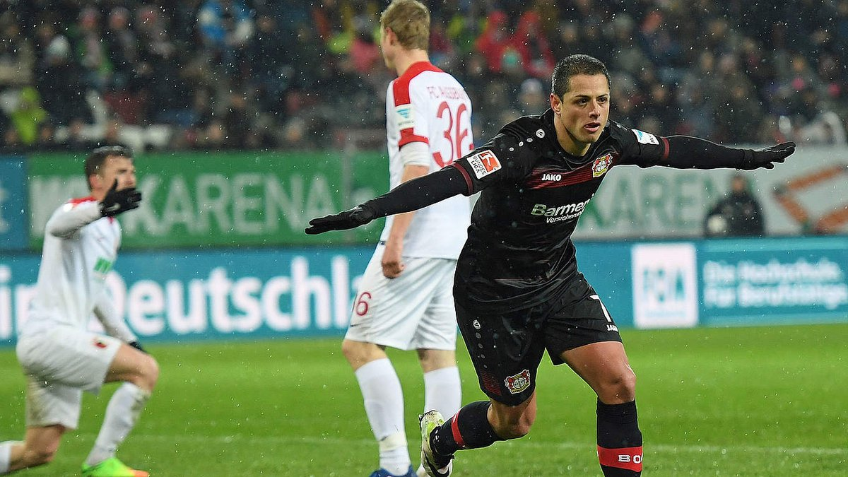 .@CH14_'s brace gave @bayer04_en a 3-1 win over @FCA_World. Check out...