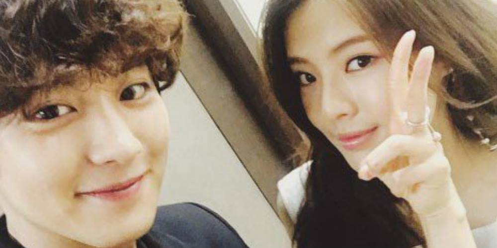 #EXO's Chanyeol leaves a friendly comment under actress Lee Sun Bin's...