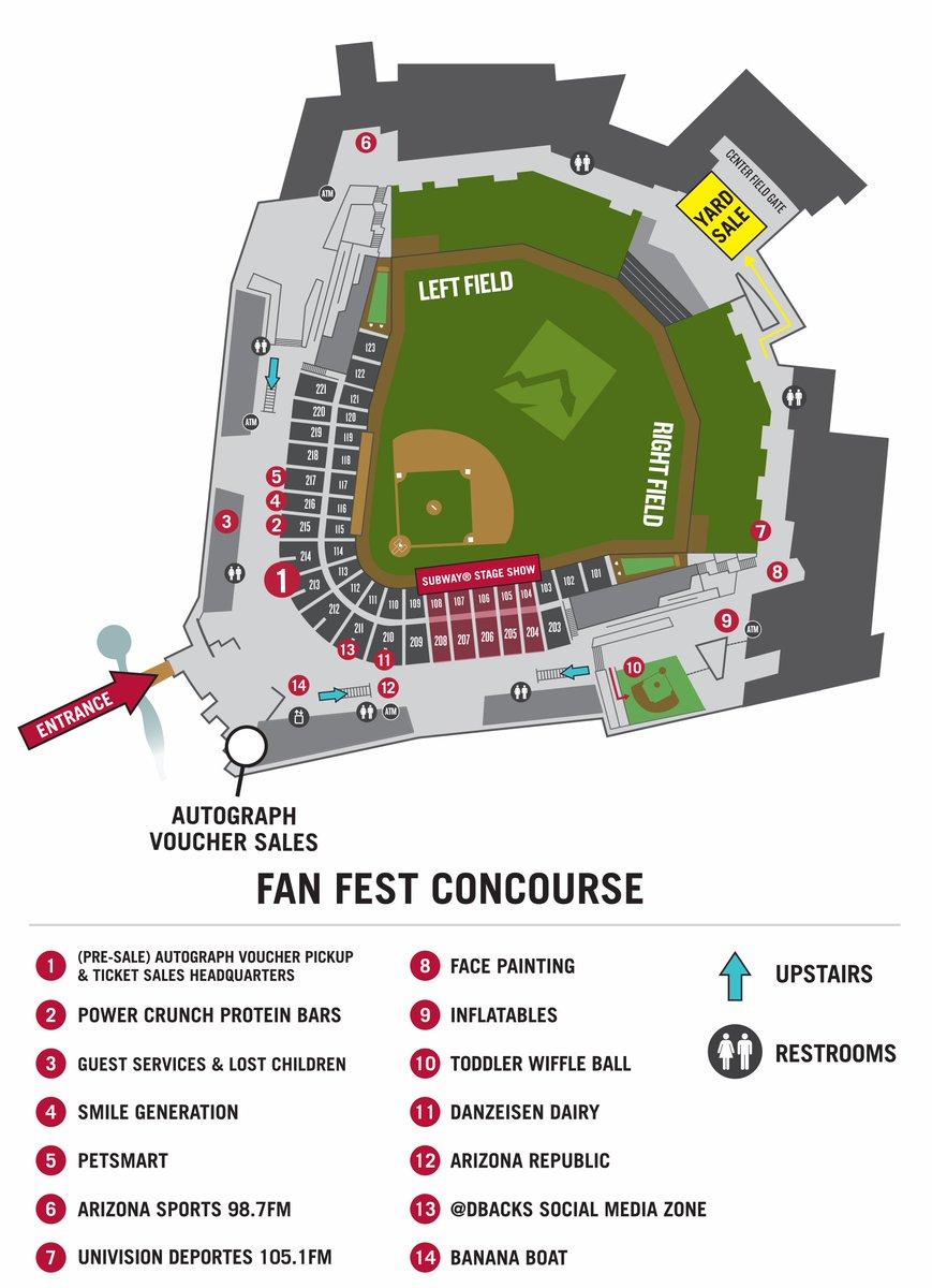 Map Of Arizona Diamondbacks Stadium.Arizona Diamondbacks On Twitter You Like Maps We Got Maps The