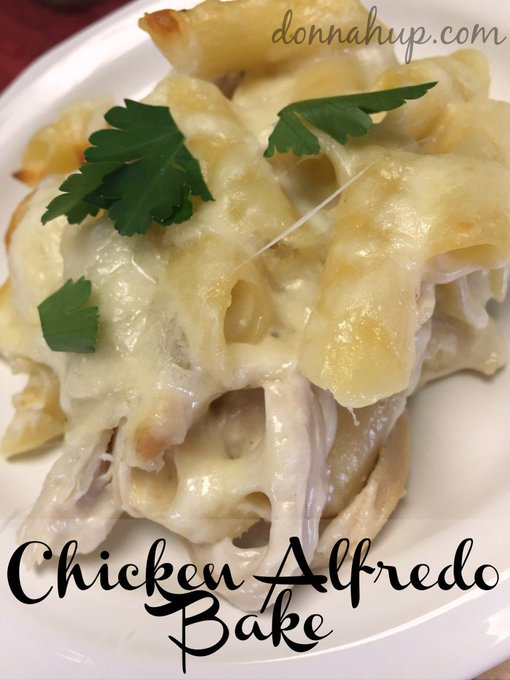 Chicken Alfredo Bake Recipe