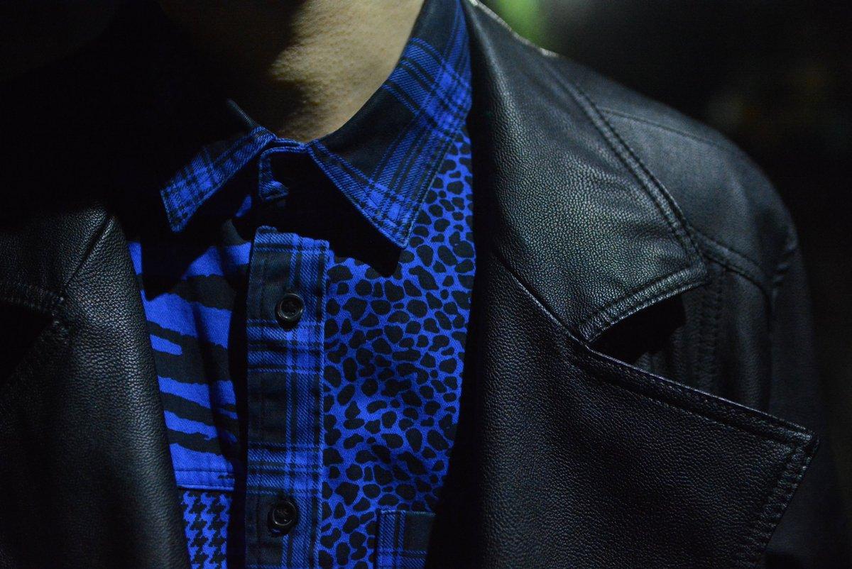 (jeudi★Style)NO.73 #Supreme #Shirt BLUE ¥17,280円(TAX IN)  http:// jeudi-japan.com/?pid=113653005  &nbsp;   #シュプリーム #トレンド #スタイル #洋服屋 #セレクトショップ #jeudi #ファッション #コーディネート<br>http://pic.twitter.com/JCNWExEyY0