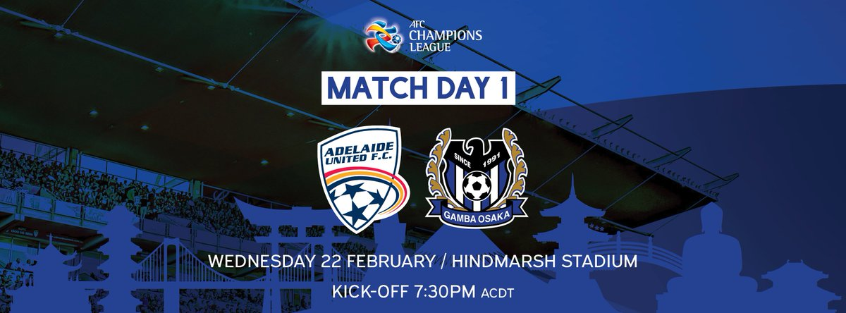 See our Reds take on Gamba Osaka at Hindmarsh this Wednesday! #AUFC #A...