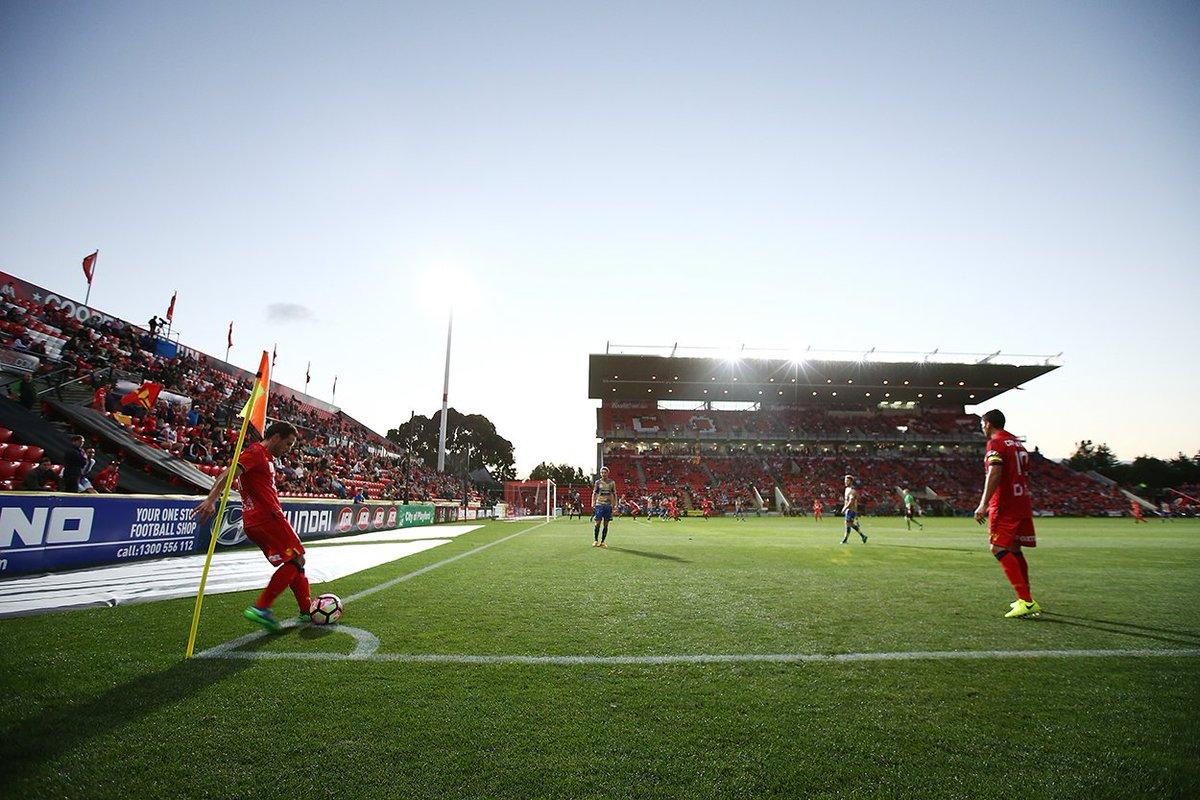Wednesday... mid-week football returns to Hindmarsh 🙌 #AUFC #ACL2017...
