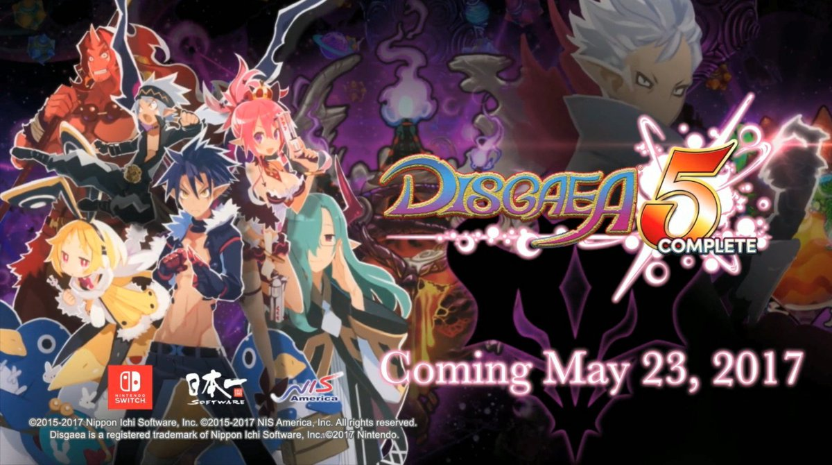 Disgaea 5 Complete Releases May 23rd In Us Neogaf Nintendo Switch Dystify Feb 18 2017