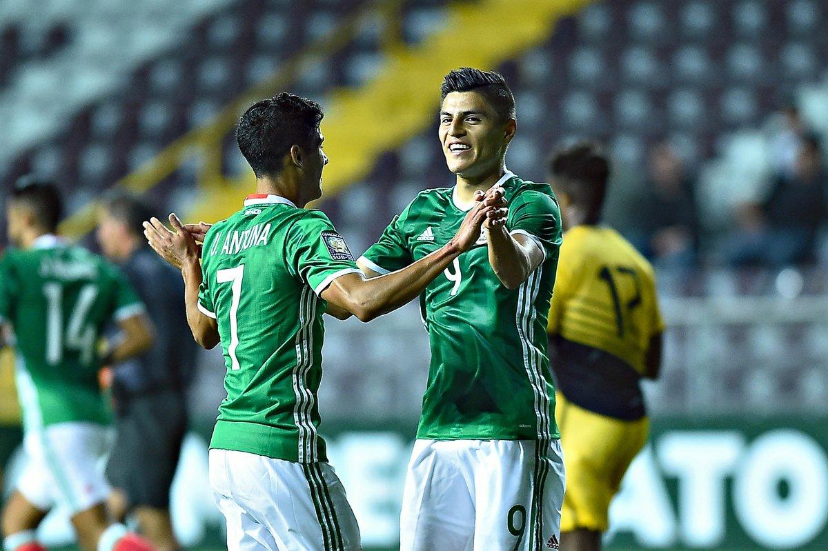 Resultado de imagen de Ronaldo Cisneros mexico sub20