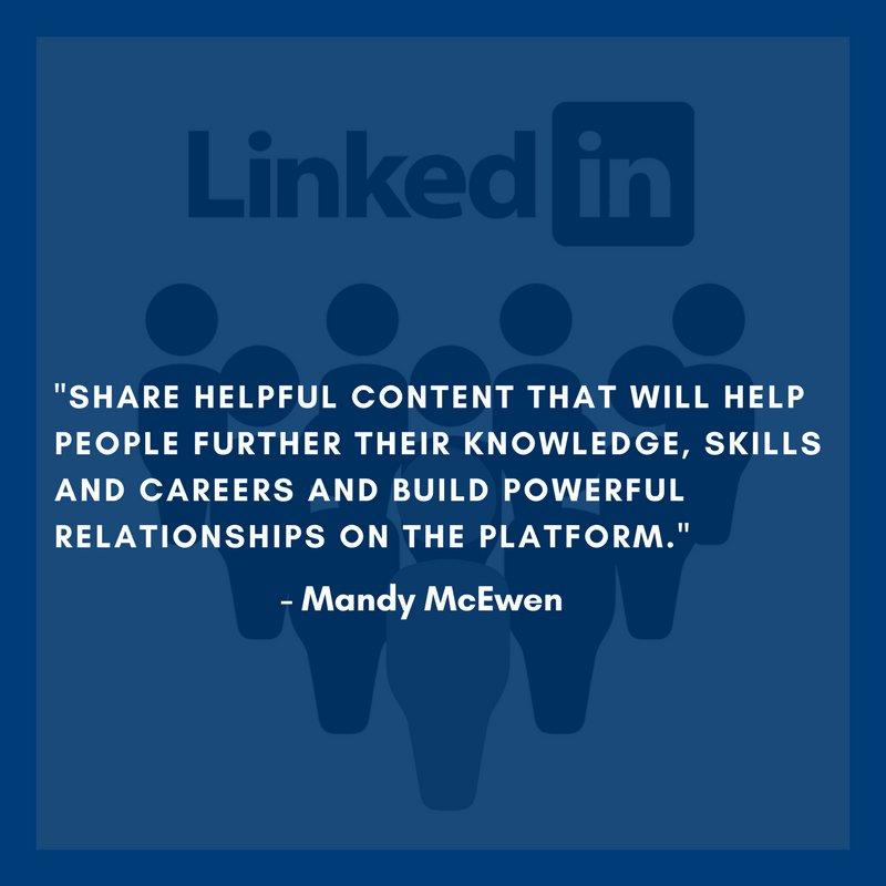#LinkedIn Marketing tips from @MandyModGirl and other marketing experts. via @drumupio https://t.co/XlyF9ubUyD #MarketingTips
