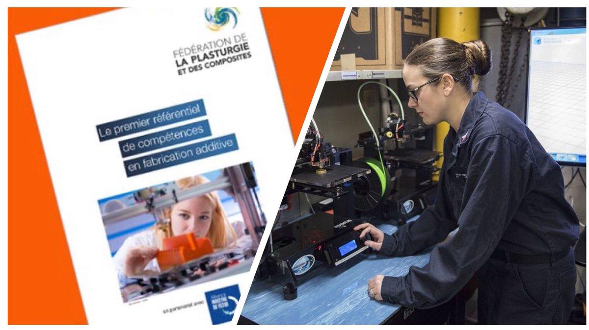 Le 1er référentiel de compétences en fabrication additive   http://www. usinenouvelle.com/article/la-fed eration-de-la-plasturgie-propose-une-base-commune-pour-la-formation-a-l-impression-3d.N503339 &nbsp; …  via  @usinenouvelle #impression3d #3dprint #3dprinting <br>http://pic.twitter.com/WJvykPrlok