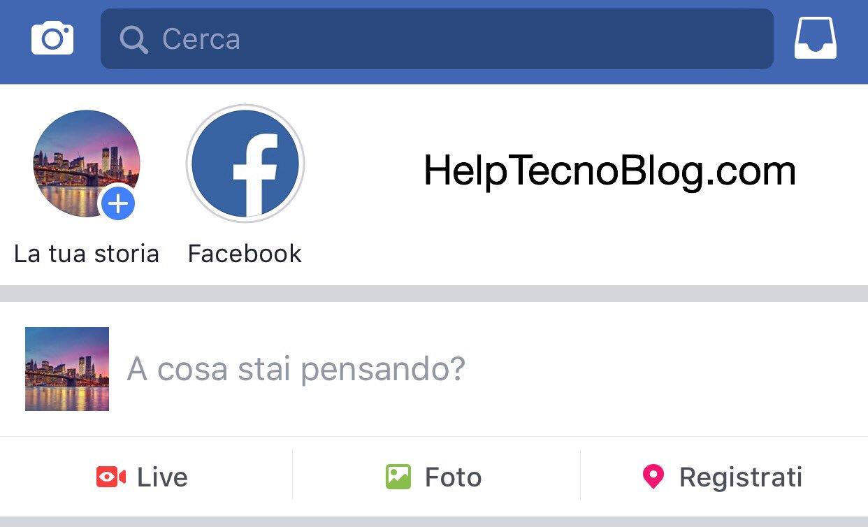 Facebook le storie
