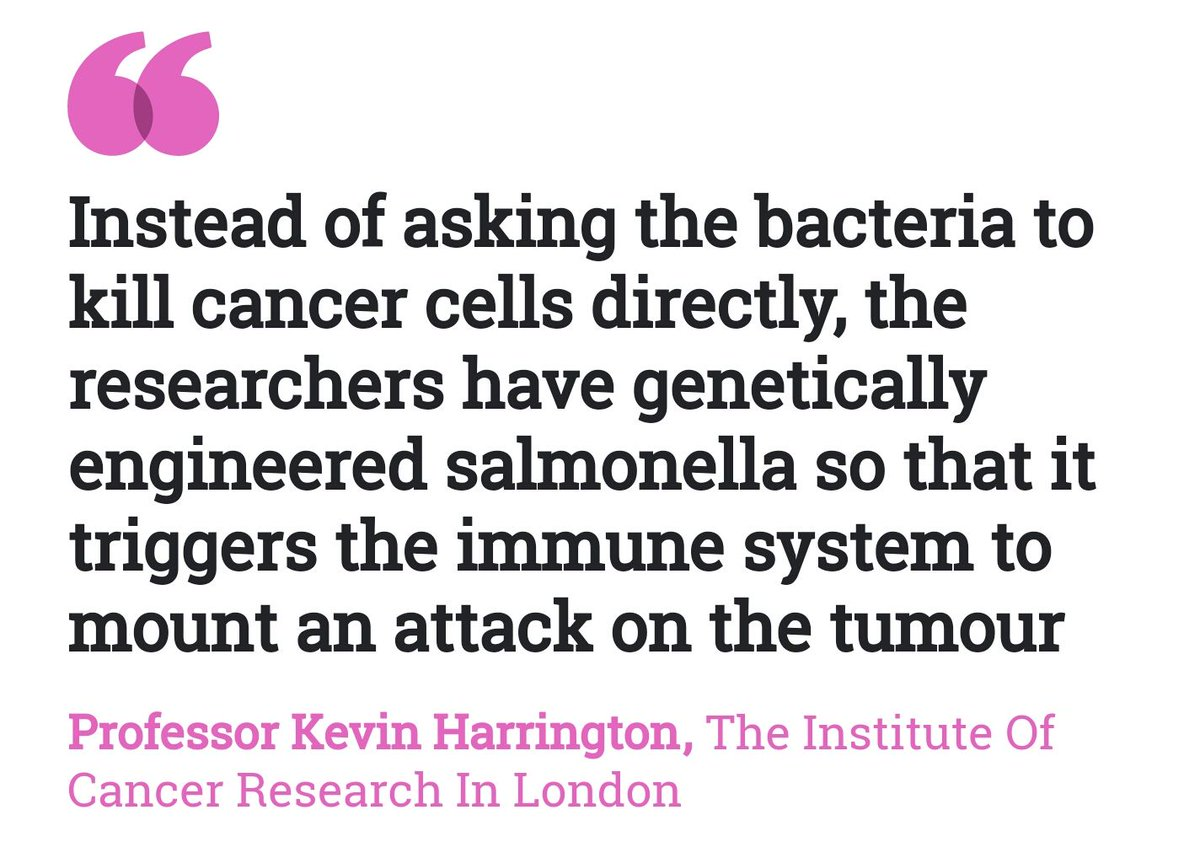 "Cancer Sign Quotes The Icr On Twitter ""the Icr's Prof Kevin Harrington On Today's"