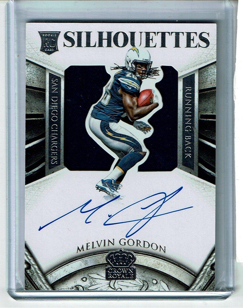 #Football Melvin Gordon 2015 Crown Royale Silhouettes Auto Autograph Rc #Jersey 241/299  http:// dlvr.it/NPsxB5  &nbsp;  <br>http://pic.twitter.com/ETzprbuwKm