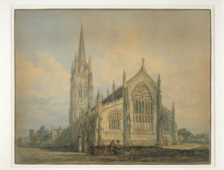 Thomas #Girtin, born this day in 1775  A great friend of J. M. W. #Turner. He died aged just 27 One of the best #watercolourists?<br>http://pic.twitter.com/JGUTU6LBPo