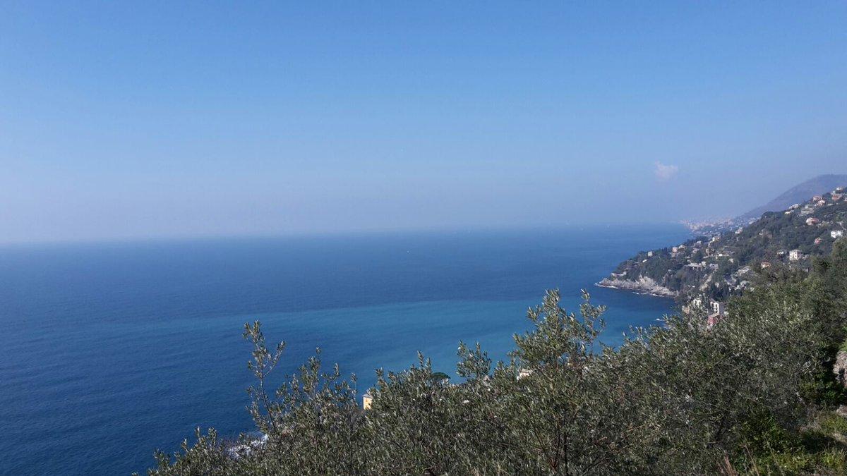 #Inverno a #Genova #Sori #GolfoParadiso<br>http://pic.twitter.com/DtLgWnoSwN
