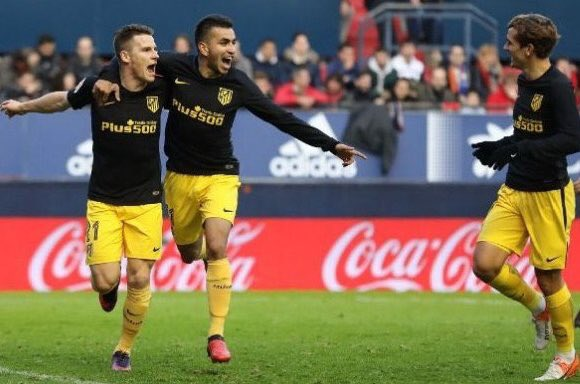 Sporting Gijon 1-4 Atletico Madrid Highlights