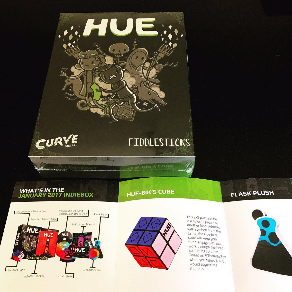 #Enfin ! Notre @TheIndieBox du mois de janvier ! Avec le jeu #hue en Edition #Collector ! #indiedev #indiegames #indie @CurveDigital<br>http://pic.twitter.com/PZQQuy4hIo