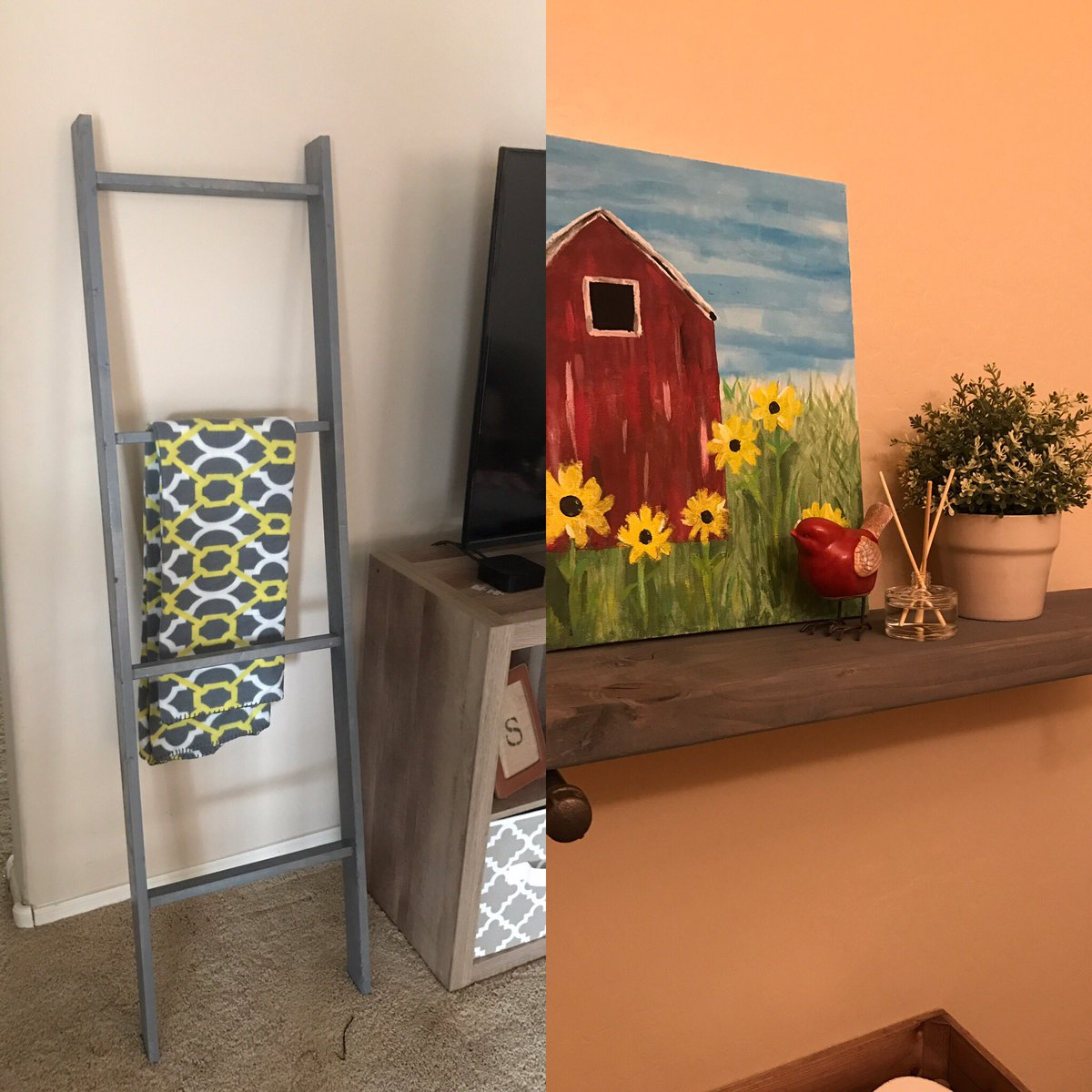 #forthehome #diy #projects #woodworking #farmhousestyle #HomeDecor #blanket-ladder #pipeshelf <br>http://pic.twitter.com/eRVwbSx52T