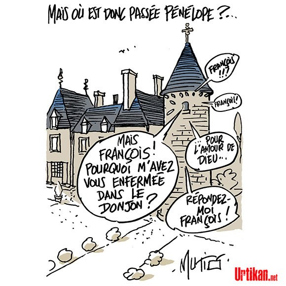 Avis de disparition médiatique : Pénélope Fillion #DessinDuJour de Mutio #PenelopeGate #PenelopeFillon #fillon #LR  http://www. urtikan.net/dessin-du-jour /avis-de-disparition-mediatique-penelope-fillion/ &nbsp; … <br>http://pic.twitter.com/oZ3e5jnsxX