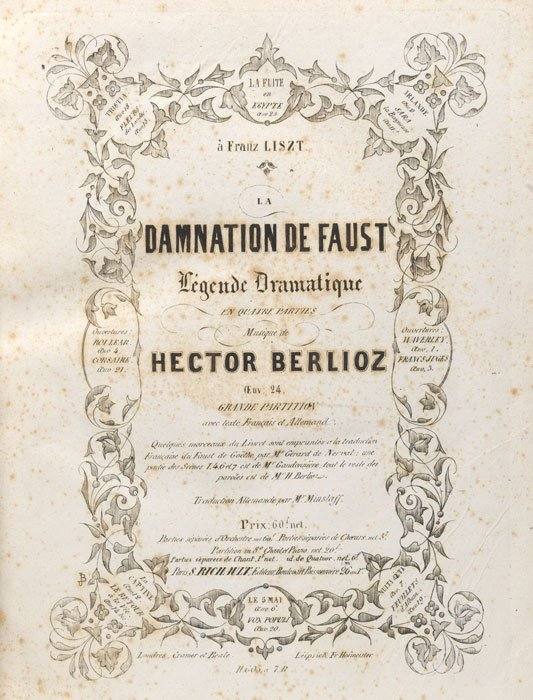 #Today in 1893 FP of Hector #Berlioz&#39;s opera La Damnation de Faust in Monte Carlo #MusicHistory #classicalmusic<br>http://pic.twitter.com/VEipKEQalh