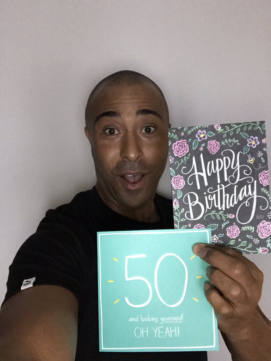 I made the big 50!! Thanks for all the best wishes