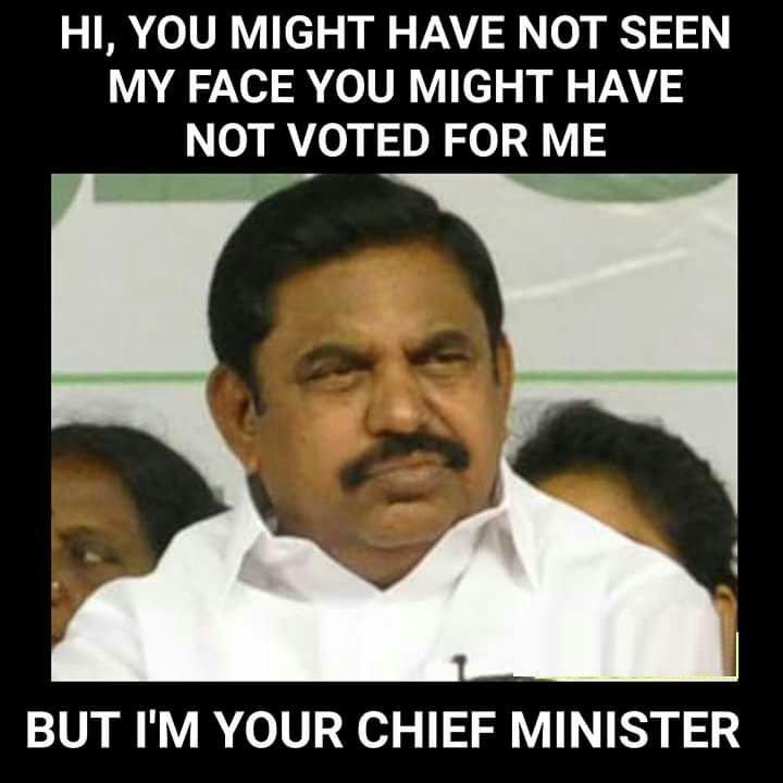 Sir Jadeja On Twitter Dear Edappadi Palaniswami You Might Have