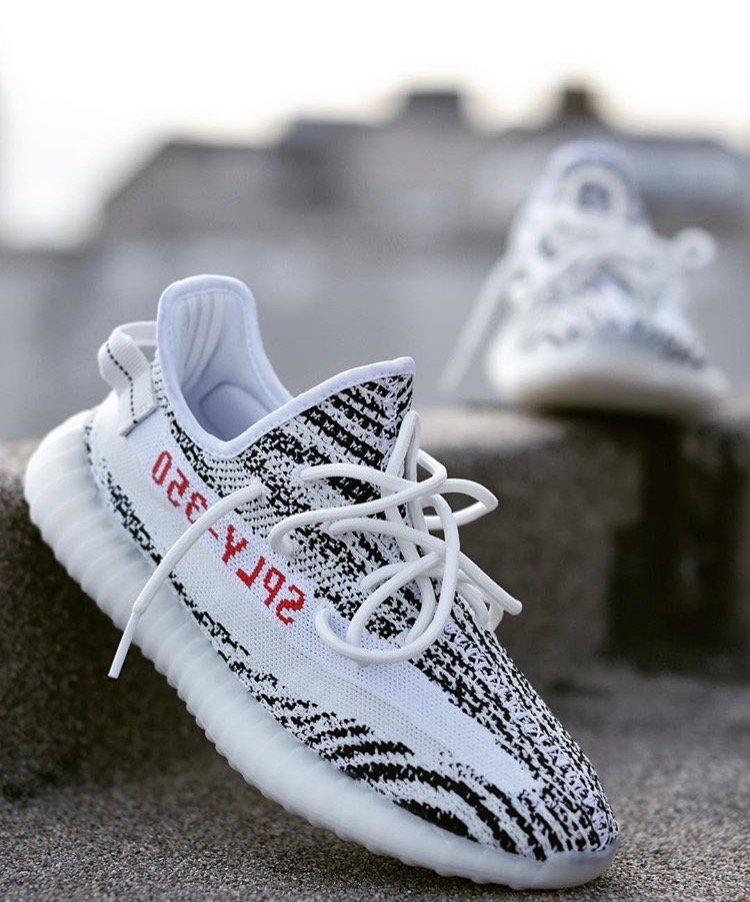 a7b6672bb adidas Confirmed App reservations go live next week for the Yeezy Boost 350  V2 Zebra ...