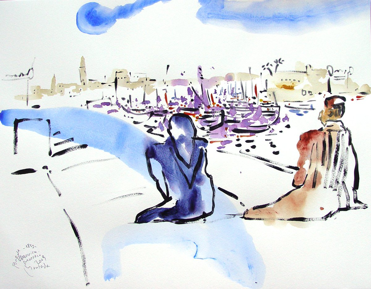 ESSAOUIRA #essaouira #morocco #luz #color #especies #olor #africa #espacio #watercolor #palmeras<br>http://pic.twitter.com/0HhwK0PhJh