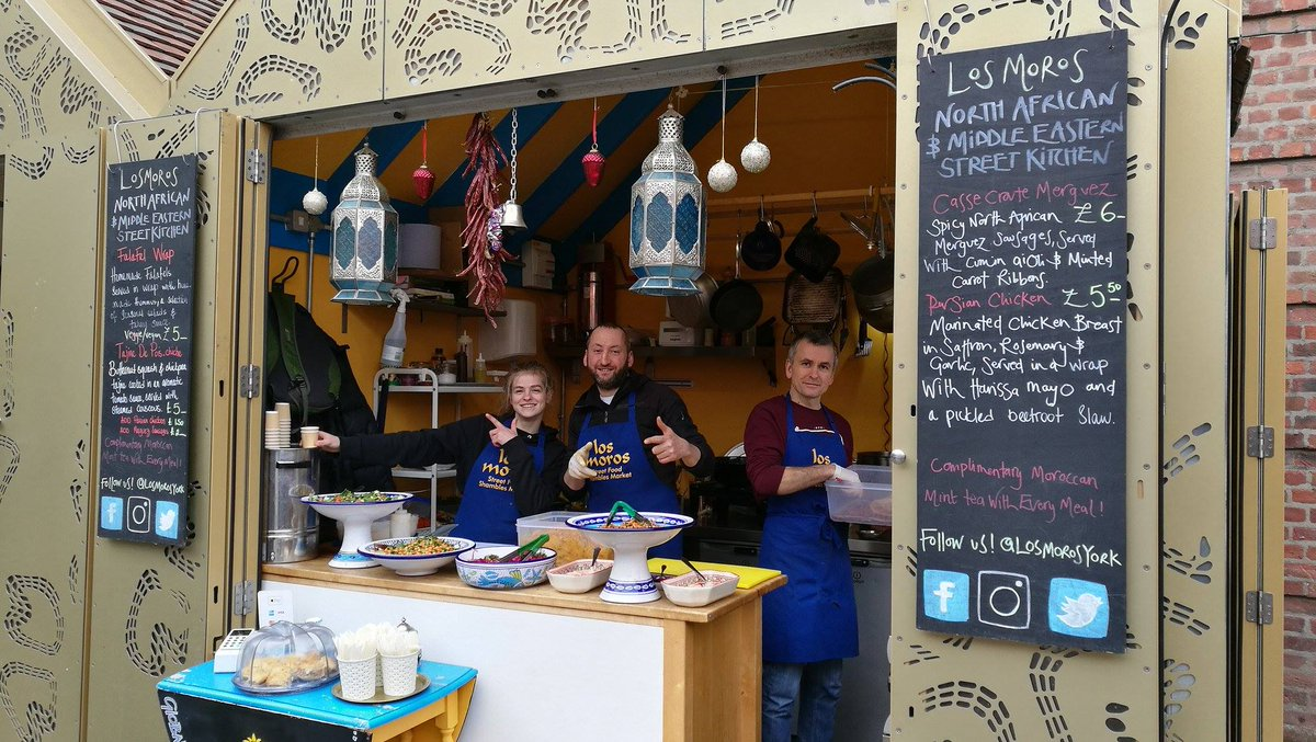 Our lovely neighbours @Los_Moros_York from @Shambles_Market Food Court! See you at #Shambles !   @kreptruckyork #Crepes #york<br>http://pic.twitter.com/OD7rD717IH