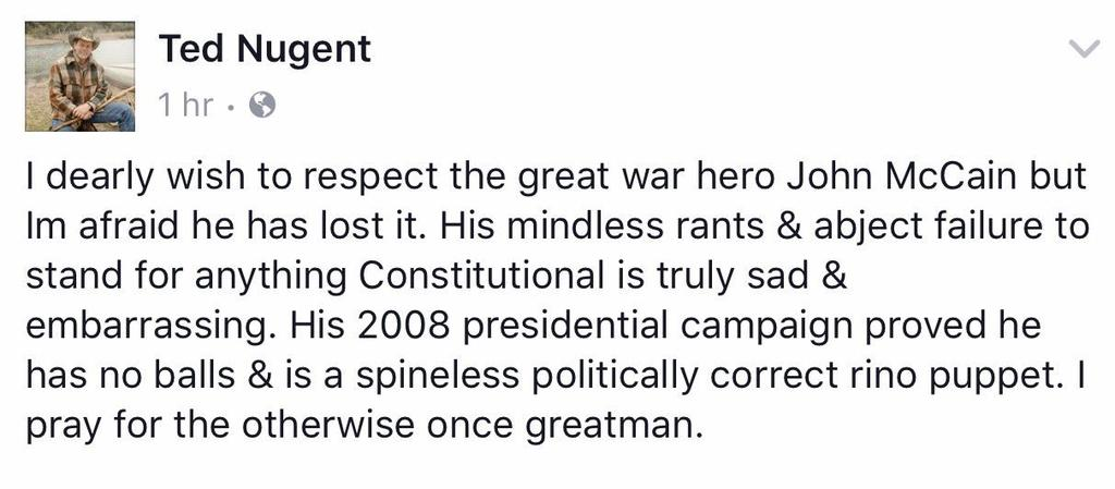 Hopefully many RTs gets this message to @SenJohnMcCain #JohnMcCain  ⬜⬜⬜⬜⬜⬜⬜⬜⬜⬜⬜⬜⬛