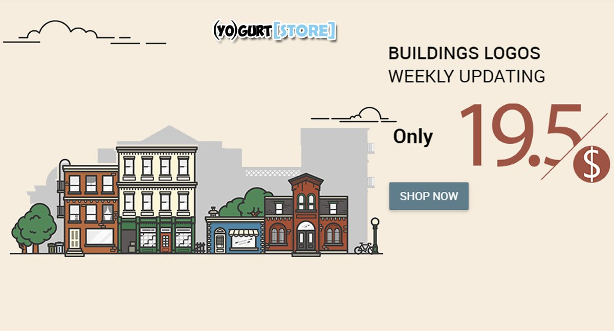 #Yogurtstore Buildings Logos Weekly Updating Only $19.5 #abstract #symbols #buildings #objects #crests Visit:  http:// bit.ly/yogurt-store  &nbsp;  <br>http://pic.twitter.com/ZzoeUaAJiX