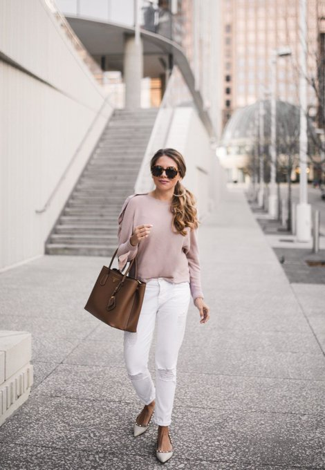 Wearing Ruffles for Spring