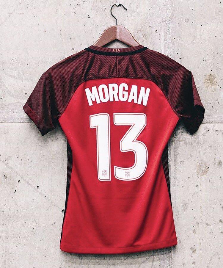 The USWNT Third Kit. #AlexMorgan #Morgan<br>http://pic.twitter.com/Qi8gchA0Uj