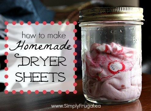 HOW TO MAKE HOMEMADE DRYER SHEETS https://t.co/fjHyyPeMpE https://t.co/mHvDVMeWW6