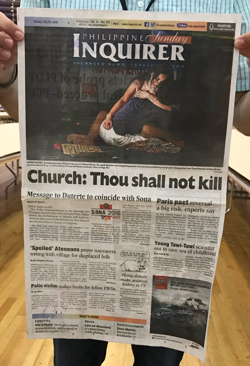 The first silver medal of #snd38 goes to the Philippine Inquirer in breaking news photography. #snd38medal https://t.co/yqfBwWZZoa
