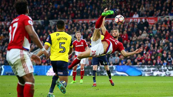 Video: Middlesbrough vs Oxford United