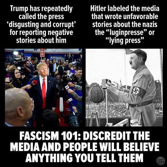 Image result for hitler on the media